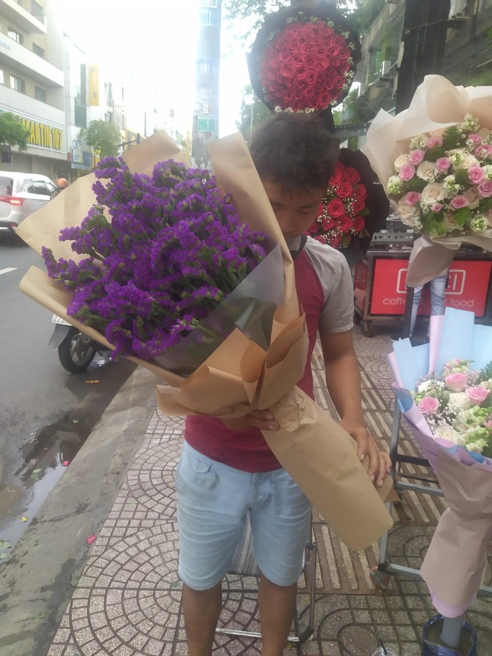 Đặt mua bó hoa salem ở Sài gòn
